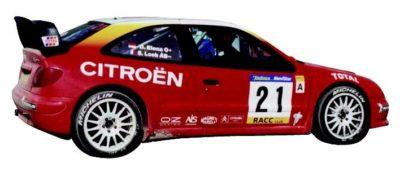 Becquet WRC pour Citroën Xsara et Xsara Coupé