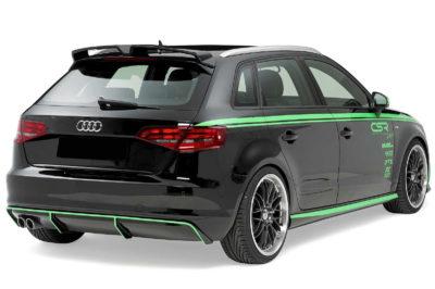 Becquet / Aileron RC8 pour Audi A3 8V 3 et 5 portes (depuis 2012)