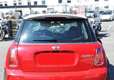 Becquet pour BMW Mini R50 et R53