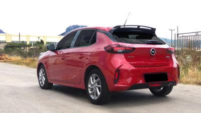 Spoiler pour Opel Corsa F
