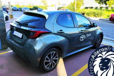 Spoiler pour Toyota Yaris 4