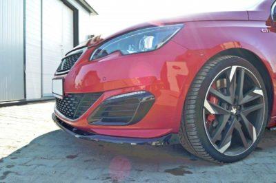 Lame de parechoc avant pour Peugeot 308 GTi