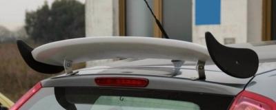 Aileron / Becquet #4 pour Peugeot 207 (de 2006 à 2014)-0