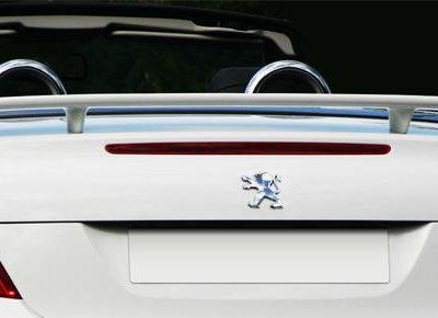 Becquet / Aileron Sport pour Peugeot 207 CC-0