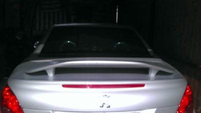 Aileron Sport pour Peugeot 207 CC (Coupé Cabriolet)