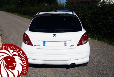 Aileron GTi pour Peugeot 207