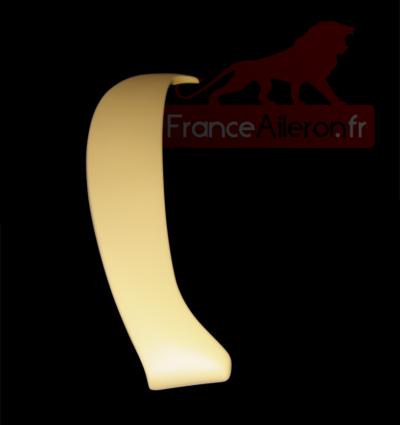Aileron Sport pour Renault Clio 2 - Prêt à peindre (Mise en peinture possible)