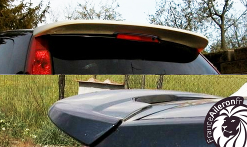 Becquet pour Ford Fiesta Mk V 5 portes