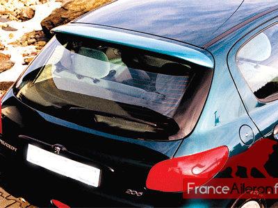 Becquet V4 pour Peugeot 206 et 206+